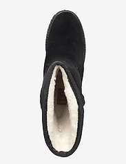 Shoe The Bear - FARA WOOL - long boots - black / black - 3