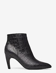Shoe The Bear - VANESSA CROCO L - korolliset nilkkurit - black - 2