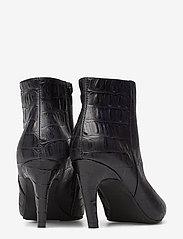 Shoe The Bear - VANESSA CROCO L - korolliset nilkkurit - black - 5