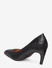 Shoe The Bear - VANESSA PUMP L - klassiset piikkikorkokengät - black croco - 2