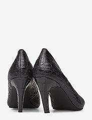 Shoe The Bear - VANESSA PUMP L - klassiset piikkikorkokengät - black croco - 4