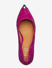 Shoe The Bear - CORA METAL TOE S - klassiset piikkikorkokengät - purple - 3