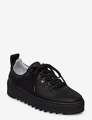 Shoe The Bear - LOUI SNEAKER N - matalavartiset tennarit - black - 0