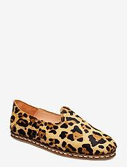 Shoe The Bear - STB-KHALO SLIPPER LEO - loafers - brown leo - 0