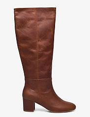Shoe The Bear - STB-BESS PULL ON L - lange laarzen - brown - 1