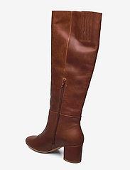 Shoe The Bear - STB-BESS PULL ON L - lange laarzen - brown - 2