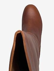 Shoe The Bear - STB-BESS PULL ON L - lange laarzen - brown - 3