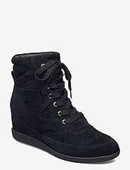 Shoe The Bear - STB-EMMY LACE S - höga sneakers - black - 0