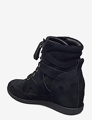 Shoe The Bear - STB-EMMY LACE S - höga sneakers - black - 2