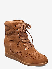 Shoe The Bear - STB-EMMY LACE S - höga sneakers - tan - 1