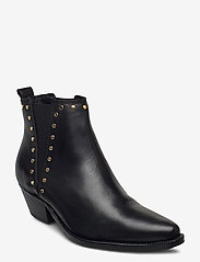 Shoe The Bear - STB-ARIETTA CHELSEA STUDS L - chelsea boots - black - 0