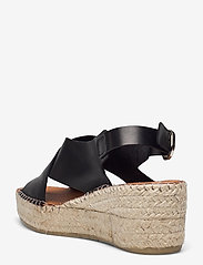 Shoe The Bear - STB-ORCHID CROSS L - espadrilles mit absatz - black - 2
