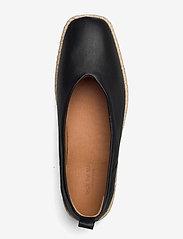 Shoe The Bear - STB-PALM BALLERINA L - platta espadriller - black - 3