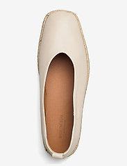 Shoe The Bear - STB-PALM BALLERINA L - platta espadriller - off white - 3