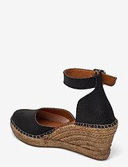 Shoe The Bear - STB-ROSEMARY LIZARD - espadrilles mit absatz - black - 2