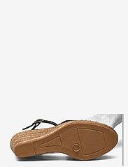 Shoe The Bear - STB-ROSEMARY LIZARD - espadrilles mit absatz - black - 4