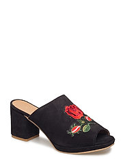 Sally Mules Slip-ins Svart SHOE THE BEAR