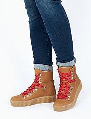 Shoe The Bear - AGDA N - flat ankle boots - tan - 0