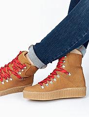 Shoe The Bear - AGDA N - flat ankle boots - tan - 6