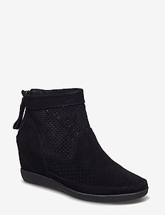 STB-EMMY S - ankle boots with heel - black / black