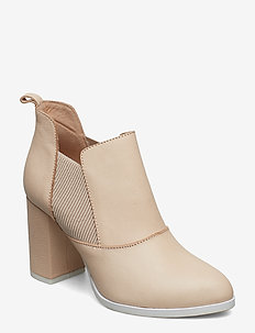 Elise L - ankle boots with heel - nude