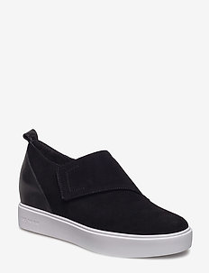 LISA S - slip-on sneakers - black