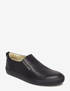 ADAM L - baskets slip-ons - black