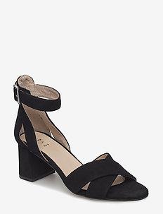 MAY CROSS - heeled sandals - black