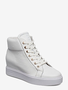 AVA HIGH TOP - höga sneakers - white