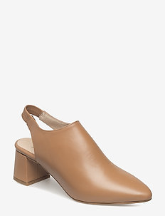 ALLISON SLINGBACK L - sling backs - tan