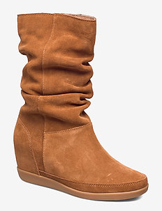 EMMY SLOUCHY BOOT - BROWN