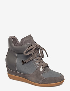 EMMY HIKE - höga sneakers - dark grey