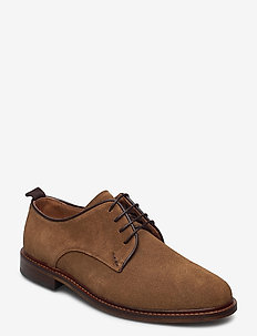 NATE S - chaussures lacées - tobacco
