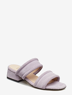 YASMIN SLIDE S - heeled sandals - lilac