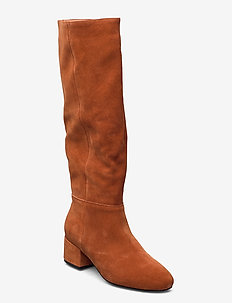 SOPHY TALL BOOT S - lange stiefel - brown