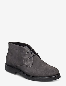 HARDY S - desert boots - grey