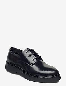 BILLIE L - buty sznurowane - black