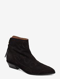 STB-MIQUITA S - flade ankelstøvler - black