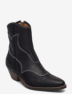 STB-ARIETTA L - ankelstøvler med hæl - black