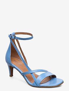STB-ROSANA STRAP L - sandały na obcasie - blue