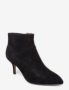 STB-VALENTINE S - ankelstøvletter med hæl - black