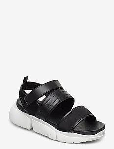 STB-MALA SPORT L - płaskie sandały - black