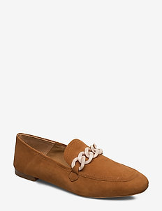 STB-LUNA CHAIN S - loafers - tan
