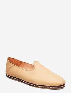 STB-KHALO SLIPPER L - loafers - nude