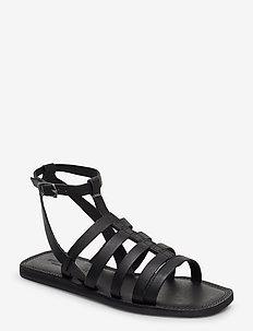 STB-TAO GLADIATOR - flate sandaler - black / black