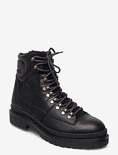 STB-ARVID L - vinter boots - black