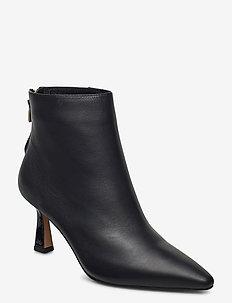 STB-CARIS ZIP L - ankelstøvler med hæl - black