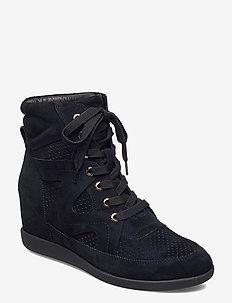 STB-EMMY LACE S - buty sznurowane - black