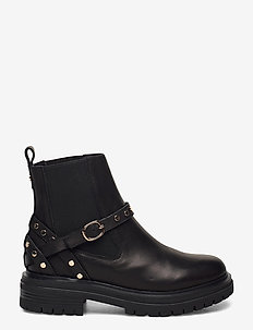 STB-FRANKA CAGE L - chelsea boots - black