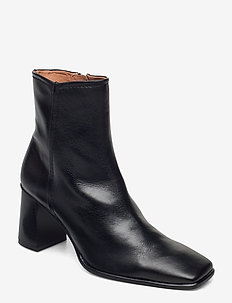STB-AGATA L - ankelstøvler med hæl - black